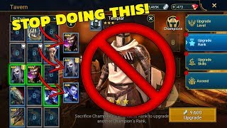 Raid: How To (Properly) Rank Up Your Champs