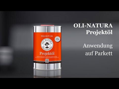 OLI-NATURA Projektöl: Anwendung auf Parkett