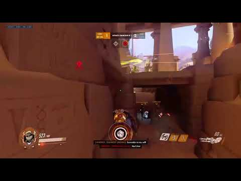 Daily Dose of Toxicity- Gold Overwatch Edition