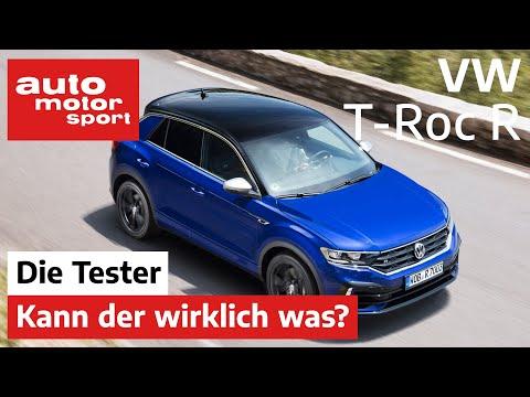 VW T-Roc R: Alles nur Optik oder kann der wirklich was? - Test/Review | auto motor und sport
