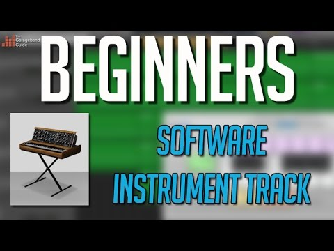 Garageband Tutorial For Beginners – Software Instrument Track Overview