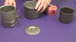 TOAKS TITANIUM COOK POTS vs SNOW PEAK....WHAT'S THE DIFFERENCE?
