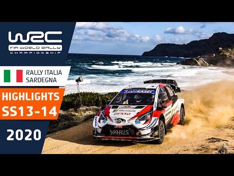 WRC ラリー・イタリア・サルディニア SS13-14のハイライト動画