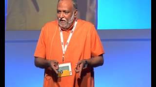 Swami Sukhabodhananda at goafest