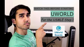 Watch this BEFORE starting UWORLD USMLE STEP 1