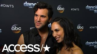'DWTS': Juan Pablo Di Pace & Cheryl Burke Celebrate Their Perfect Score | Access