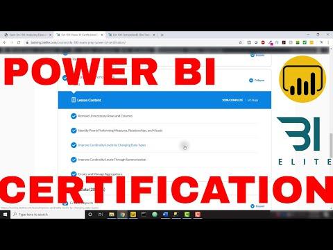 DA-100 Power BI Certification Course - BI Elite Training - YouTube
