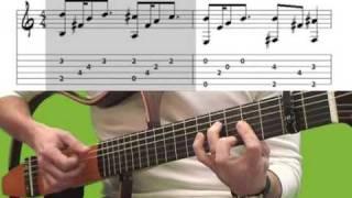 Гитара, Стинг. Shape of my heart (с табами)
