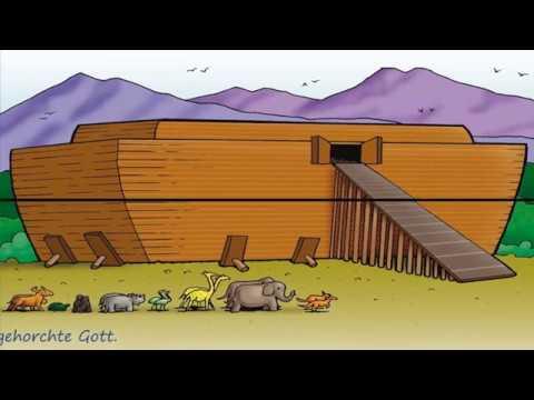 Bibel-Cartoon: Die Arche Noah