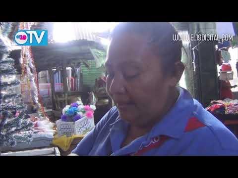 Navidad ya se encuentra en el Mercado de Masaya