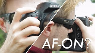 Back Button Focus: Why I Use it and HOW TO Use it on the NIKON D750