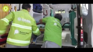COSMOS en las ambulancias del SAME Provincia