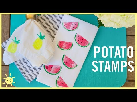 DIY | How to Make Potato Stamps