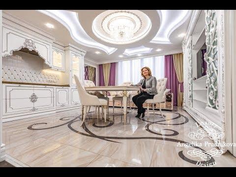 Реализованный дизайн-проект квартиры в ЖК «Дирижабль»