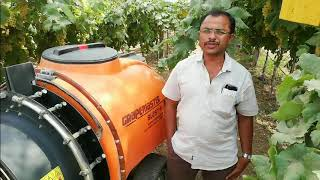 Happy with results of Grapemaster Blast+:Bijapur -Shivananda Patil