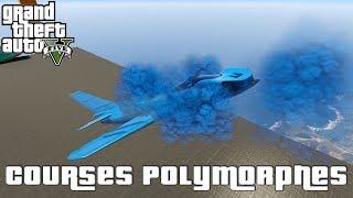 LE FINISH LE PLUS CLOSE EN COURSES POLYMORPHES !! (GTA 5 PC Races Funny Moments #10)