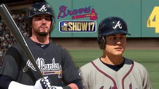 MLB The Show 17 Atlanta Braves Franchise EP26 First Place Showdown MLB 17