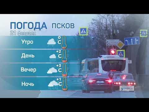 Прогноз погоды / 21.02.2021