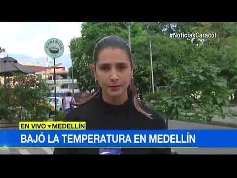 El cielo esconde el secreto del frio intenso que esta azotando a Medellin