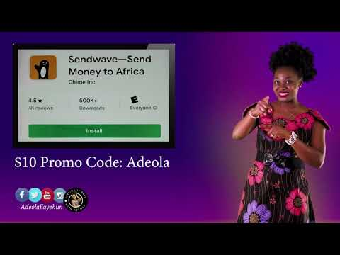Send Money For Free; Get $10 When you Download SendWave Before Sept. 9th