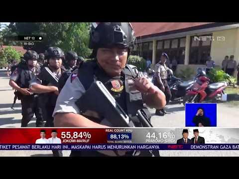 Pengamanan Ibu Kota Jelang Penetapan Hasil Pemilu 2019 NET12