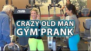 BADASS Old Man Gym Pranks 3!! - Workouts Gone Wrong;)