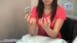Смотреть онлайн Гимнастика: Упражнения для пальцев рук