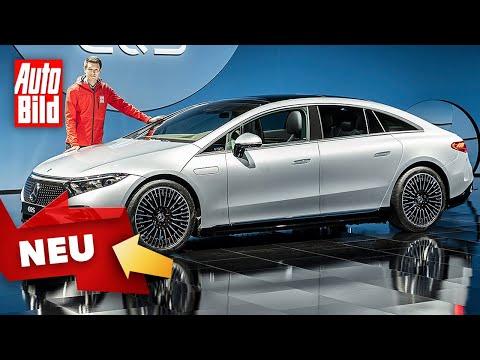 Mercedes EQS (2021)  Erster Check in der Elektro-S-Klasse  Sitzprobe mit Peter R. Fischer