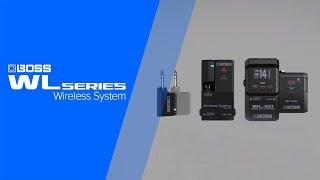Boss WL-60 Wireless System Video