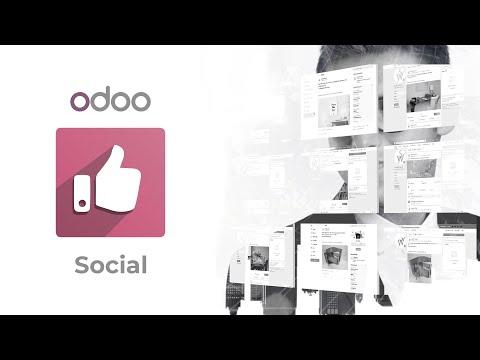 odoo Social Marketing - Manage Social Media, Web Push Notifications and Live Chat.