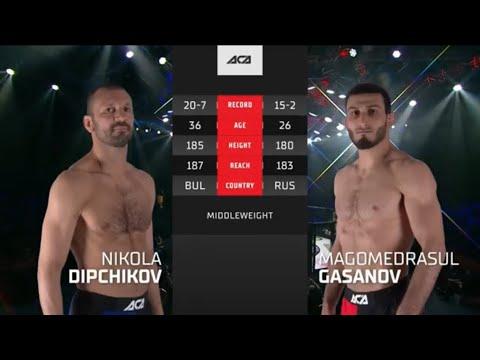 Магомедрасул Гасанов vs. Никола Дипчиков – Онлайн видео