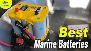 Best Marine Batteries In 2020 – Reviews & Comparison By Experts!
