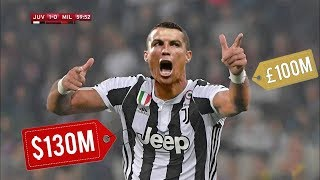 Bu Yüzden Juventus Cristiano Ronaldo İçin 130 Milyon Dolar Ödedi..