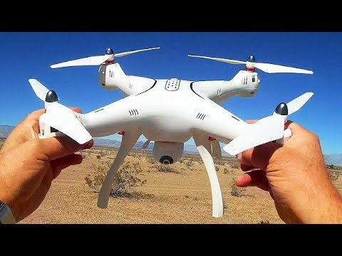 Syma X8 Pro Large GPS Drone Flight Test Review