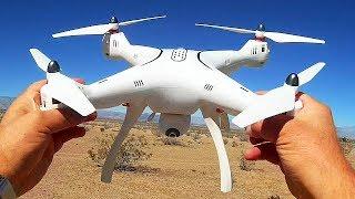 Syma X8 Pro Large GPS Drone Flight Test Review