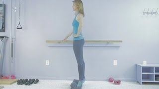 How to Slim the Calves Using Pilates : Pilates Exercises & More