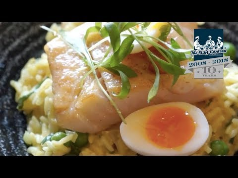 Dom Chapman creates a kedgeree recipe
