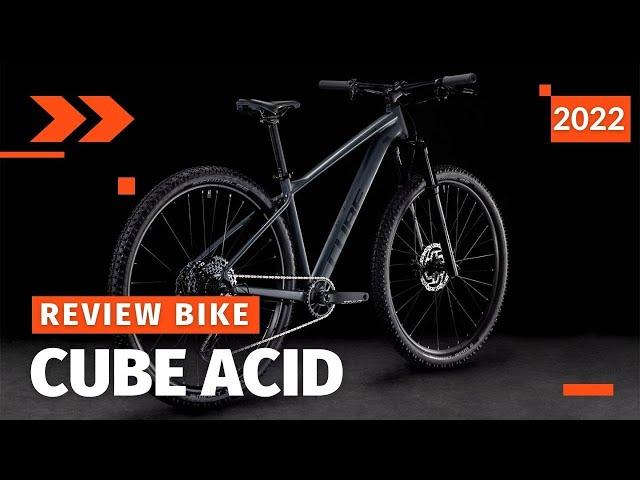 Видео Велосипед Cube Acid (Grey´n´Pearlgrey)