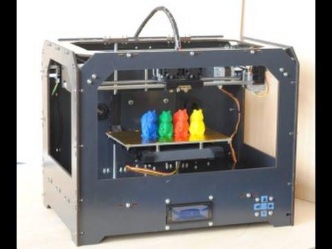 CtC 3d Printer Review -Makerbot Replicator Fake- [HD] [GER-ENG]+ Printing Results