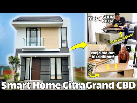CitraGrand Cibubur CBD - Rumah 6x15 2 Lantai Dapet Smart Home Fully Furnished