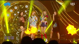 BLACKPINK   '붐바야(BOOMBAYAH)' 0828 SBS Inkigayo