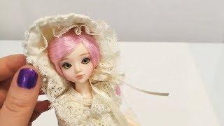 АСМР Обзор куклы J-doll Koningslign (тихий голос)