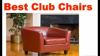 10 Best Club Chairs 2020