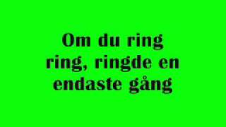 ABBA - Ring Ring - Swedish - Svenska