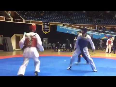 Hạng -58kg giải Taekwondo Hàn Quốc tại đảo Jeju ngày 14-17/2