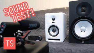Pioneer S-DJ50X-W Active DJ Speaker Sound Test + Comparison w/ Yamaha HS80M & Sony SRS-X2