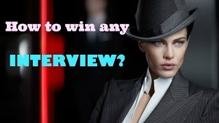 How to win any INTERVIEW? | Interview Tips