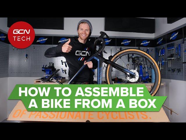 Insta :  De la boîte au vélo: comment assembler un tout nouveau vélo