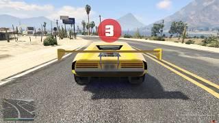 Viseris -- самая быстрая тачка в GTA Online. 300 км в час!
