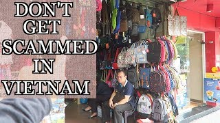Shopping in the OLD QUARTER Hanoi Vietnam TIPS on avoiding SCAMS and how to BARGAIN
